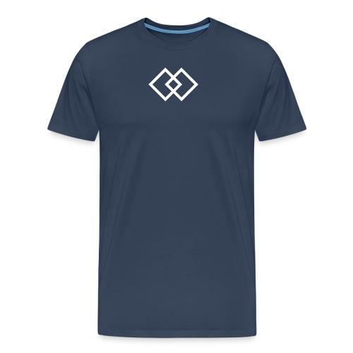 sdlogo weiss - Männer Premium T-Shirt