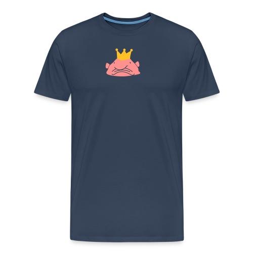 Koning Blobvis - Mannen Premium T-shirt