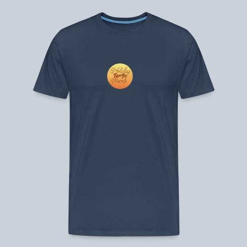 typeteelogo13holidaytravels - Mannen Premium T-shirt