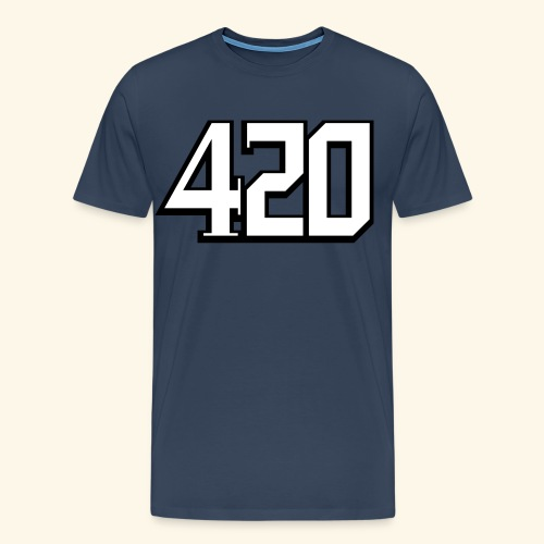 420 hip hop cannabis - Men's Premium T-Shirt