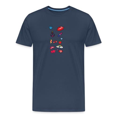 ecussons pop - T-shirt Premium Homme