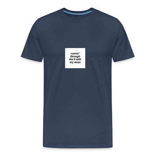 cap woes - Mannen Premium T-shirt