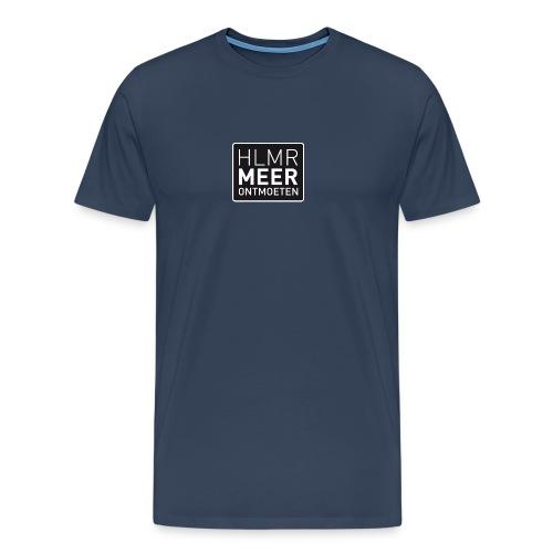 hlmr ontmoeten w op drukwer 500 - Mannen Premium T-shirt