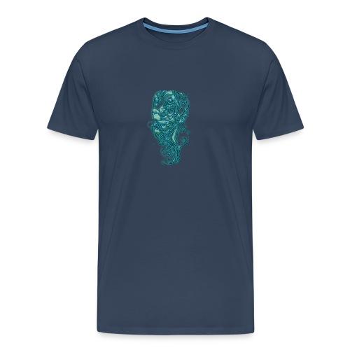 Perro azul - Camiseta premium hombre