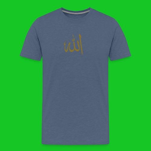 Allah - Mannen Premium T-shirt