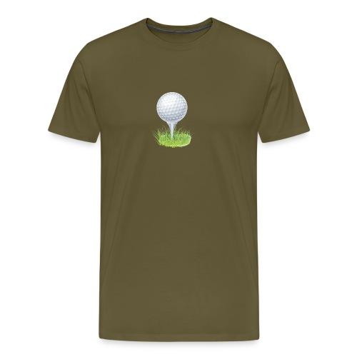 Golf Ball PNG Clipart - Camiseta premium hombre