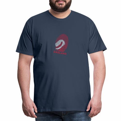 Fingerprint England - Männer Premium T-Shirt