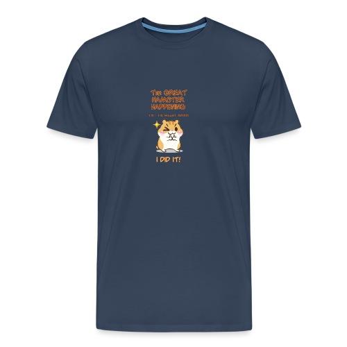 Het grote Corona Hamsterweekend! - Mannen Premium T-shirt