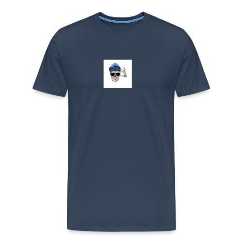 sommersweat panel 56x64 cm totenkopf - Männer Premium T-Shirt