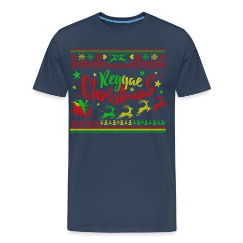 Reggae Christmas - Männer Premium T-Shirt