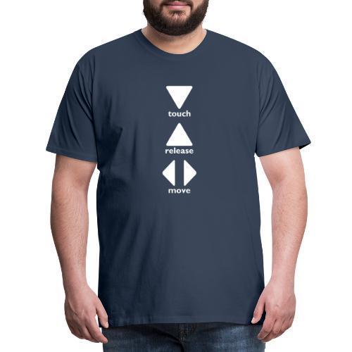 Touch Release Move - Men's Premium T-Shirt