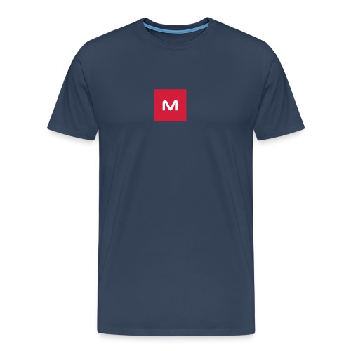 123muse logo - Men's Premium T-Shirt