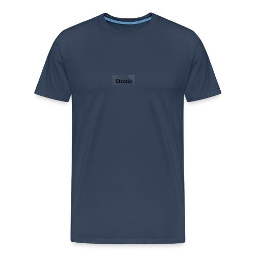 Vrouw, Stronk T-Shirt Wit - Mannen Premium T-shirt