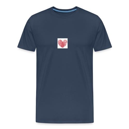 amor - Camiseta premium hombre