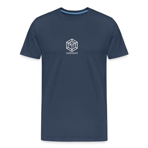 subraum schriftzug unten winzig - Männer Premium T-Shirt