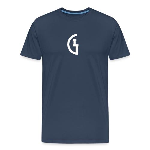 LG white - Mannen Premium T-shirt