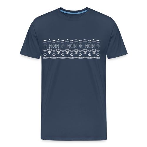 Muster Nordisch Maritim - Männer Premium T-Shirt