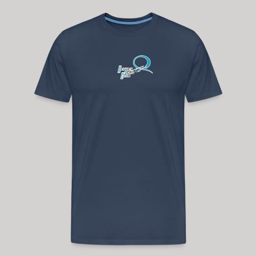 logo Le B.A.C. T-Rex 2018 bordure blanche - T-shirt Premium Homme