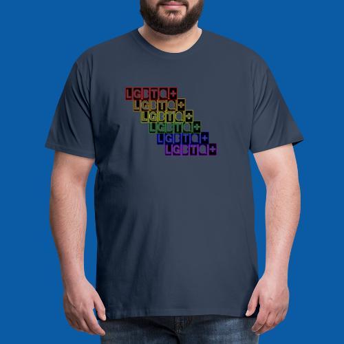 LGBTQ+ Raibow - Männer Premium T-Shirt
