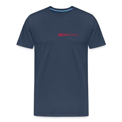 poesslforum logo v2 - Männer Premium T-Shirt