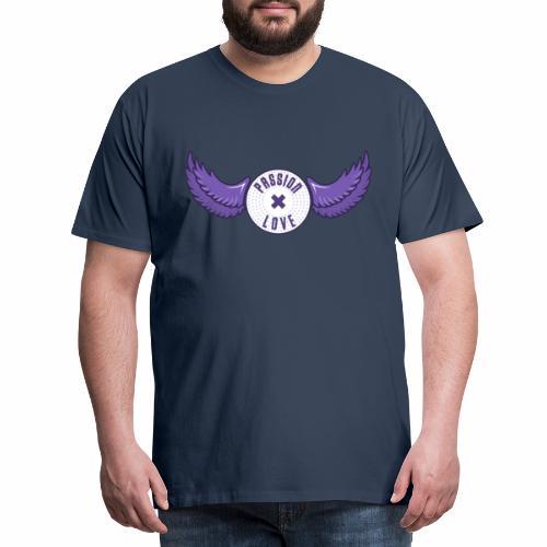 Passion x Love (Purple/Lilac) - Men's Premium T-Shirt