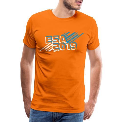 ESA 2019 - Winter Blue - Men's Premium T-Shirt