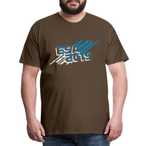 ESA 2019 - Winter Blue - Men's Premium T-Shirt