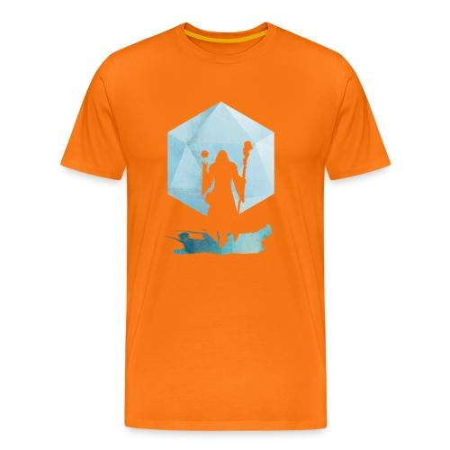 Legendaarinen Mage - Dungeons and Dragons d20 - Miesten premium t-paita