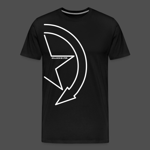 Logo marki 1/2 my - Koszulka męska Premium
