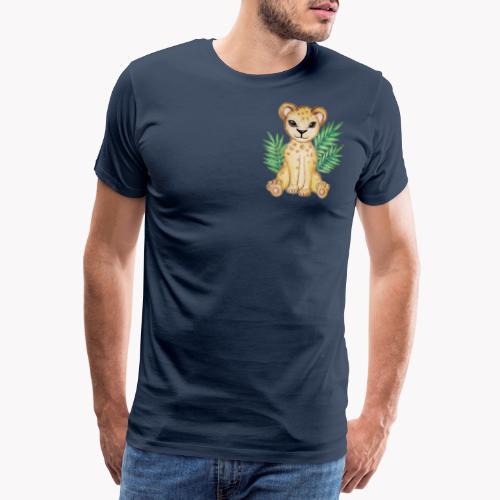 Löwenbaby - Männer Premium T-Shirt
