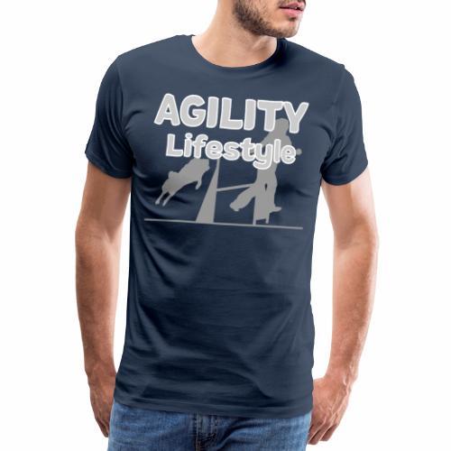 Agility Dogagility Hundesport Hundetraining - Männer Premium T-Shirt