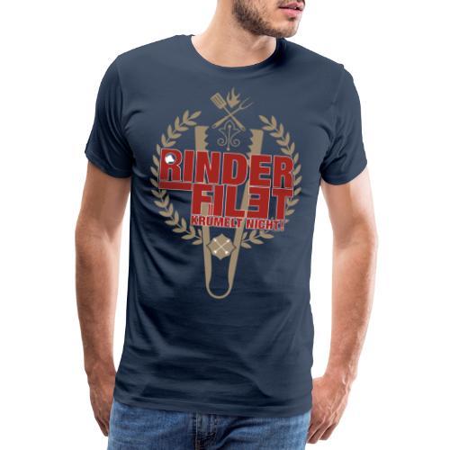 RINDERFILET KRÜMELT NICHT - Männer Premium T-Shirt