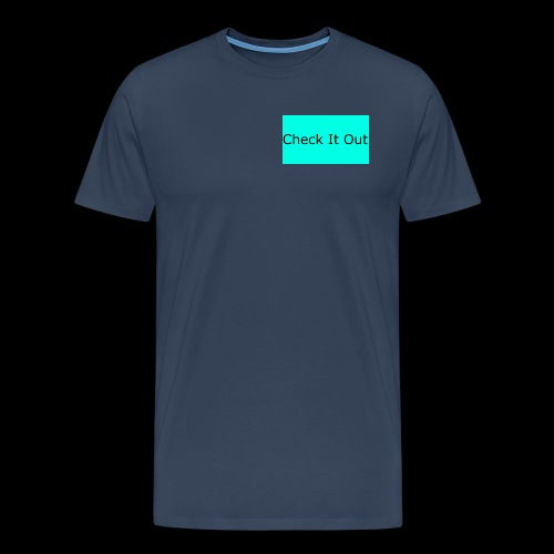 check it out - Men's Premium T-Shirt