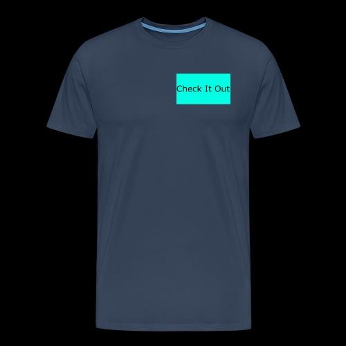 check it out - Men's Premium T-Shirt