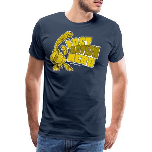 Riesenschildkröte - Lost Action Hero - Männer Premium T-Shirt