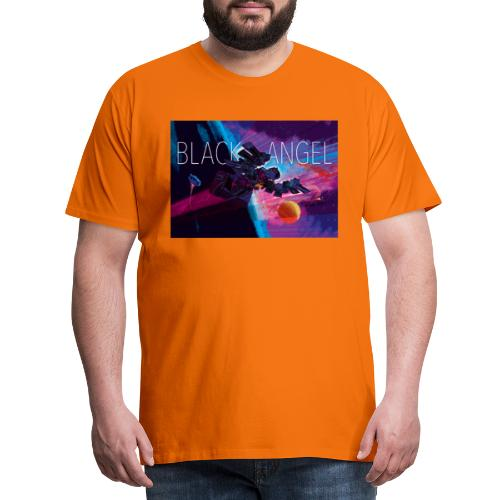 BLACK ANGEL COVER ART - T-shirt Premium Homme