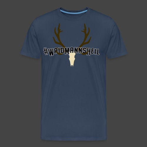 """#Waidmannsheil""-Shirt für Jäger/innen - Männer Premium T-Shirt"