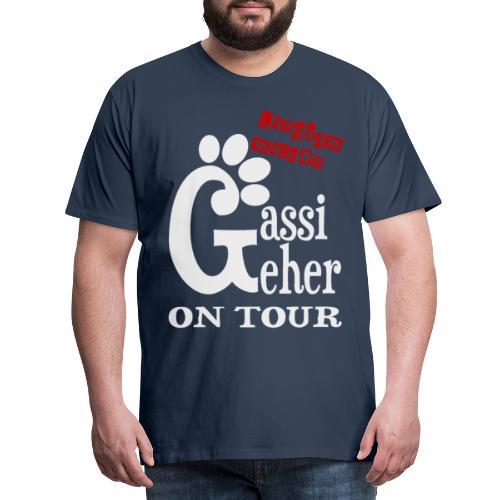 Gassigeher auf Tour - Langsam machen - Männer Premium T-Shirt