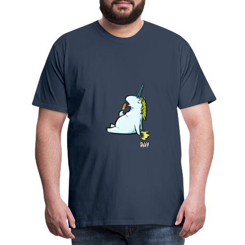 STE 0006 00 Eis Einhorn - Männer Premium T-Shirt