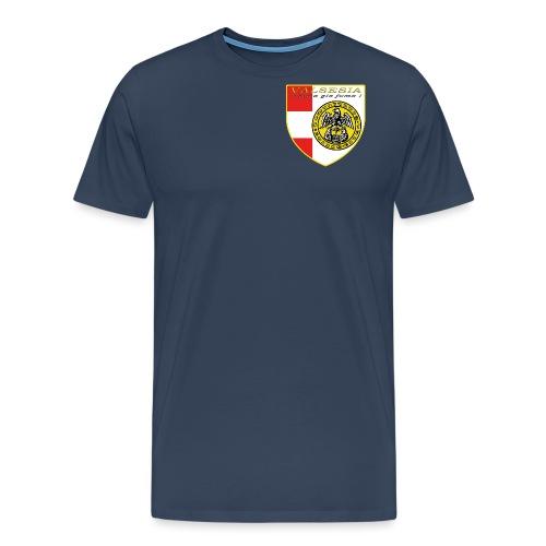 scudo simbolo comunità Valsesiana - Maglietta Premium da uomo