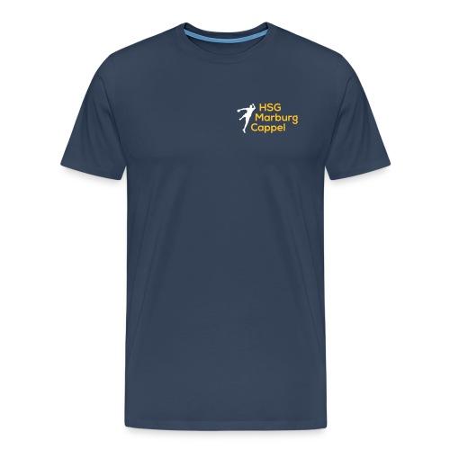 HSG weiß gelb - Männer Premium T-Shirt
