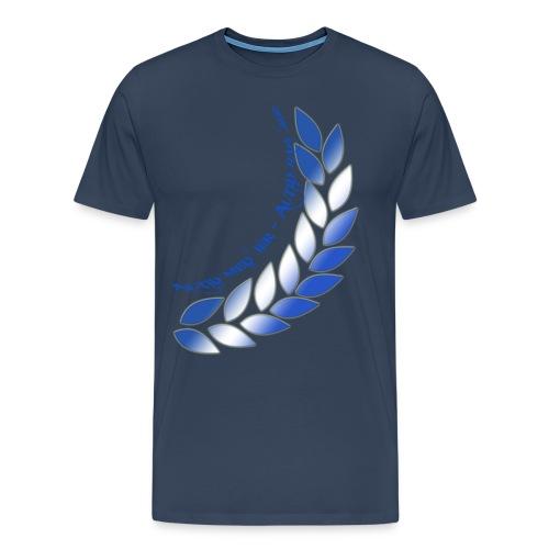 altid med jer bag jer laur png - Men's Premium T-Shirt