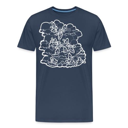 93. River Daze (white) - Men's Premium T-Shirt