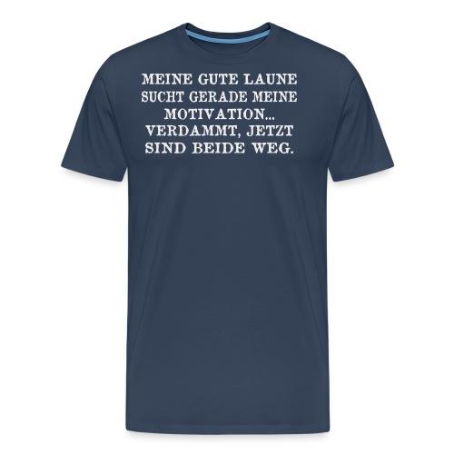 Motivation - Männer Premium T-Shirt