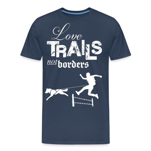Love Trails – Hoodie - Männer Premium T-Shirt