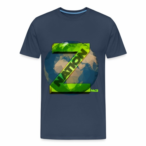 Zpace NATION Logo (pace) - Men's Premium T-Shirt