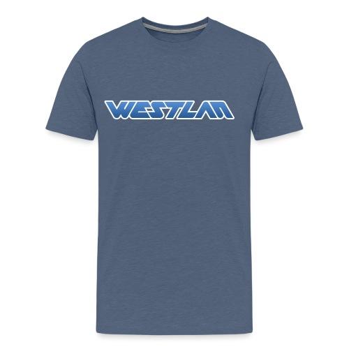 WestLAN Logo - Men's Premium T-Shirt