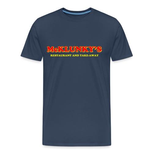 McKlunky's logo - Men's Premium T-Shirt