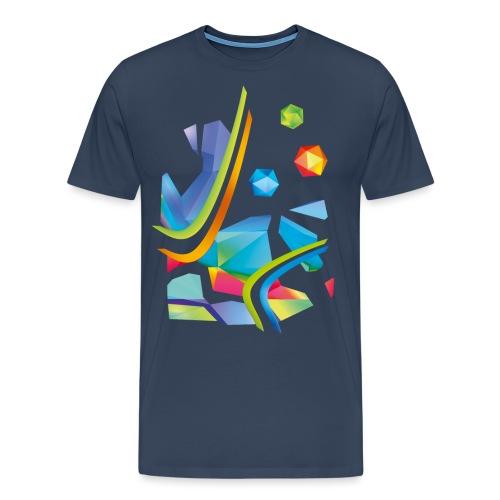 Fresh Works 3D Graffiti - Men's Premium T-Shirt
