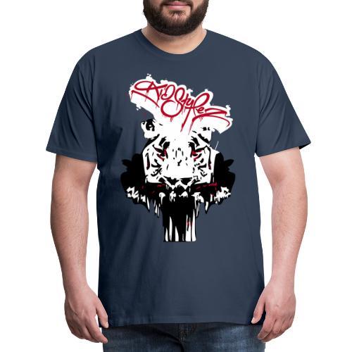 Tiger Samtig Weich - Männer Premium T-Shirt